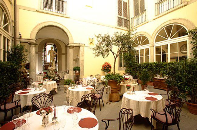 Top restaurants for wine lovers European hotel, Florence