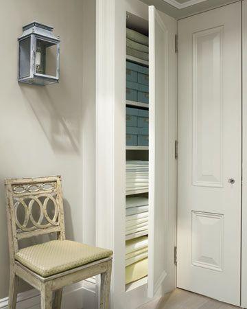 Shallow linen closet | Closets | Pinterest | Shallow, Linens and ...