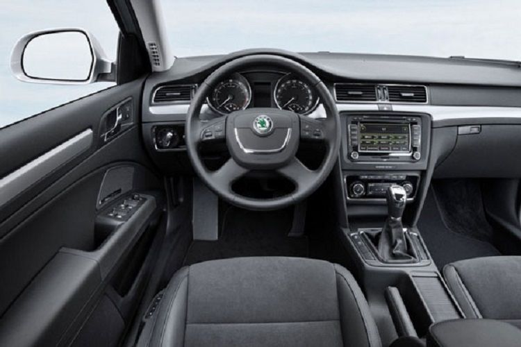 Release 2015 Skoda Superb Combi Review Interior View Model Cool