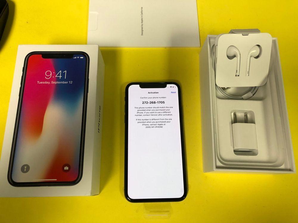 activate new iphone x verizon