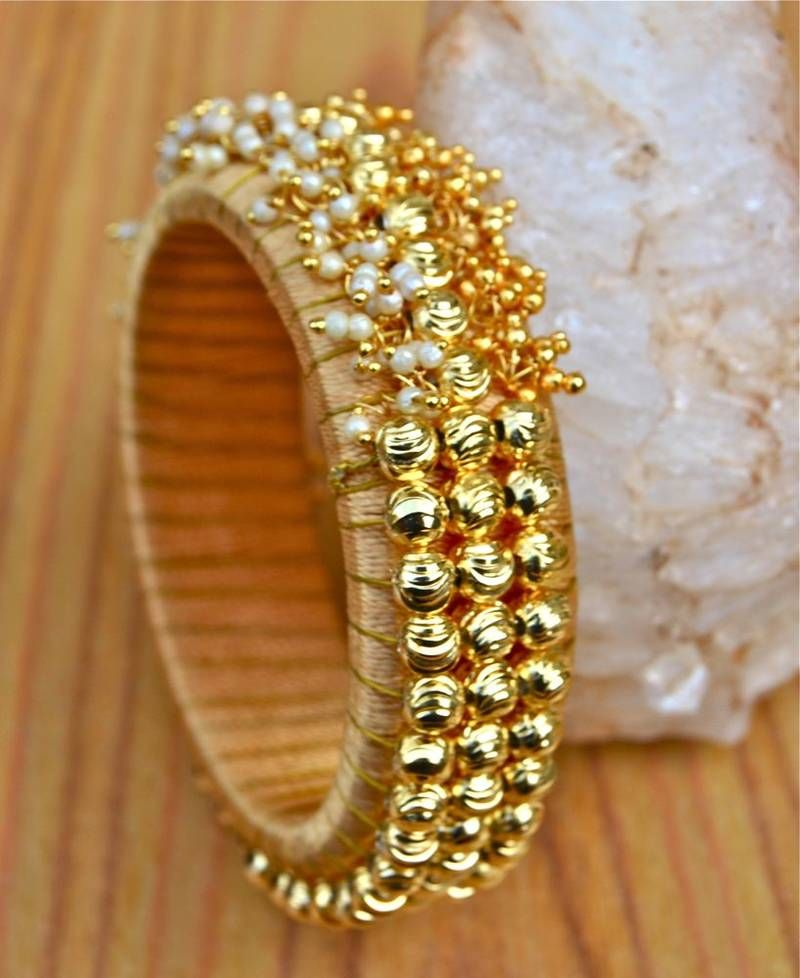 buy silk thread ghungroo bangle online