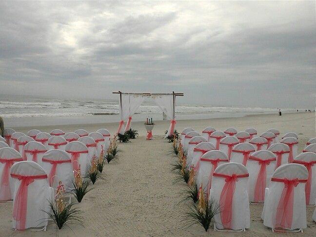 Wedding on New Smyrna Beach by Elite Events by Debbie 386