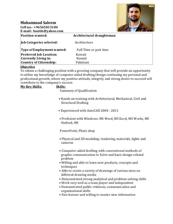Draughtsman Resume Template Sample Resumesdesign Architect Resume Sample Sample Resume Templates Mechanical Engineer Resume