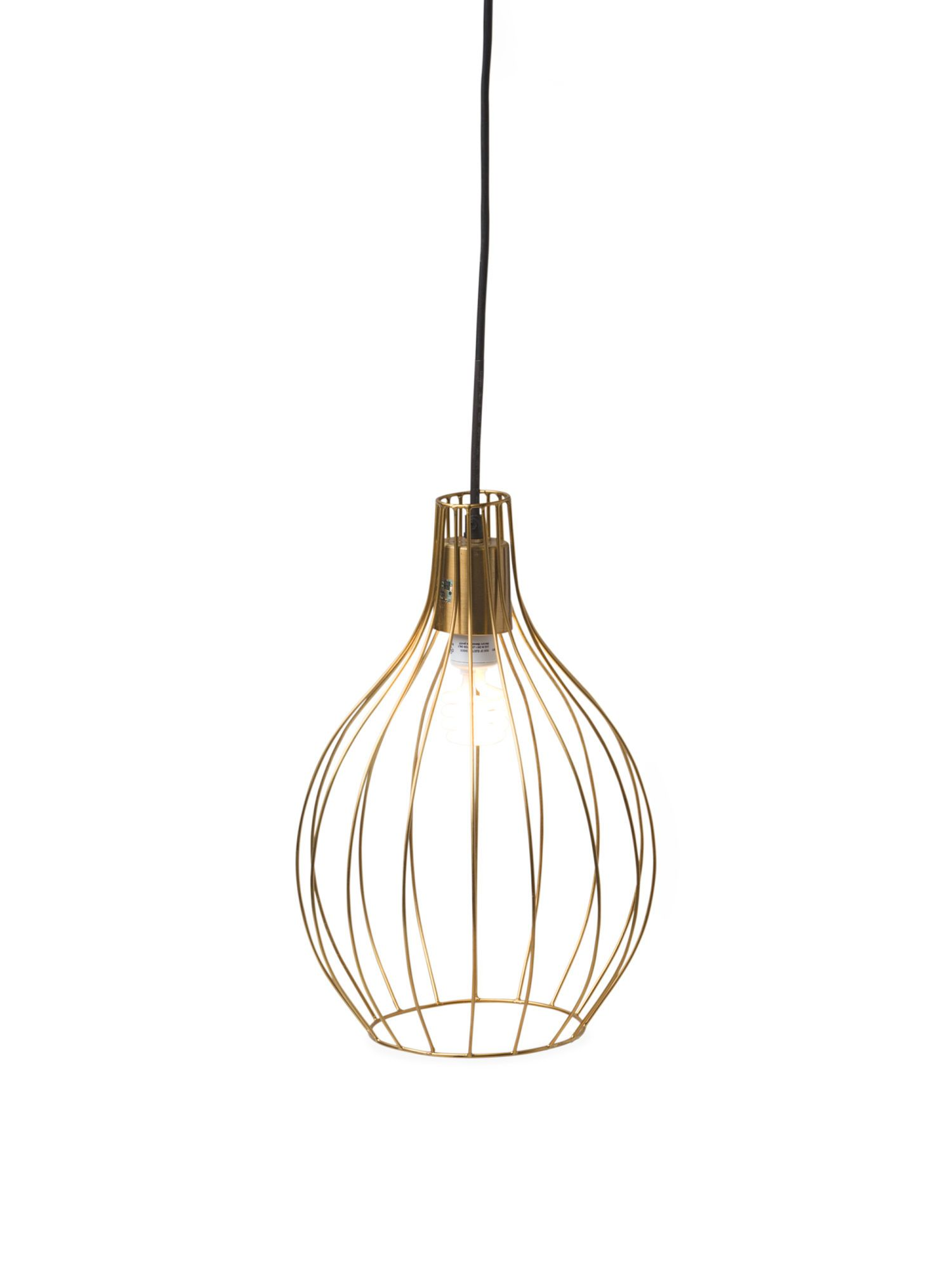 Made In India Wire Hanging Pendant Lamp Accent Furniture Tj Wiring Further Ceiling Lights Wires Along With Tjmaxx