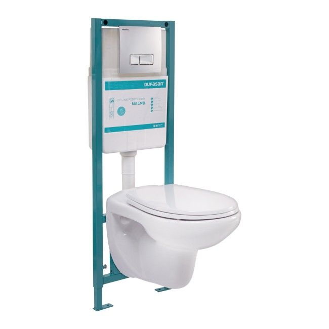 Polska 396zl Zestaw Podtynkowy Wc Durasan Malmo Malmo Toilet Bathroom