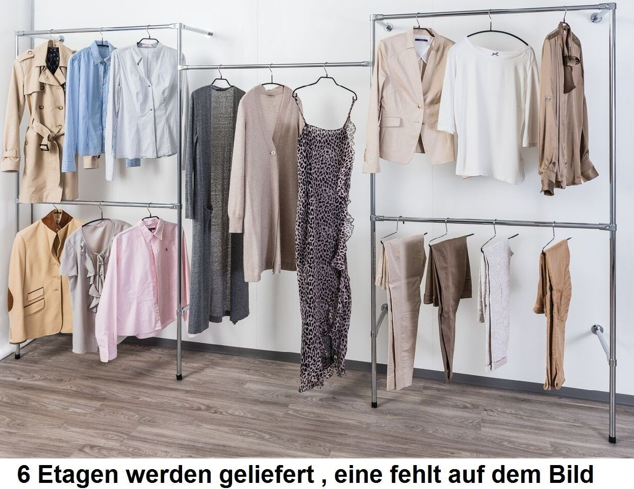 Details Zu Begehbarer Kleiderschrank Kleiderstange Kleiderstander