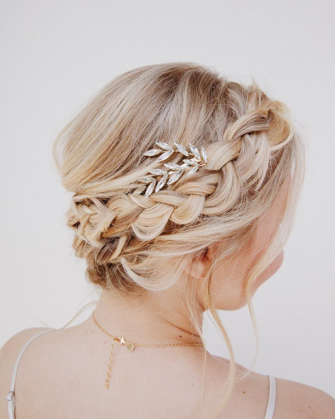 Try This Dutch Crown Braid Tutorial Perfect For Your Wedding Day