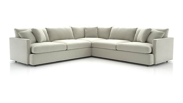 Superb Lounge Ii 3 Piece Sectional Sofa Reviews Crate And Beatyapartments Chair Design Images Beatyapartmentscom