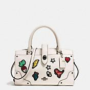 710b84d215 Shop The COACH Market Tote In Polished Pebble Leather With Souvenir  Embroidery. Enjoy Complimentary Shipping   Returns! Find Designer Bags