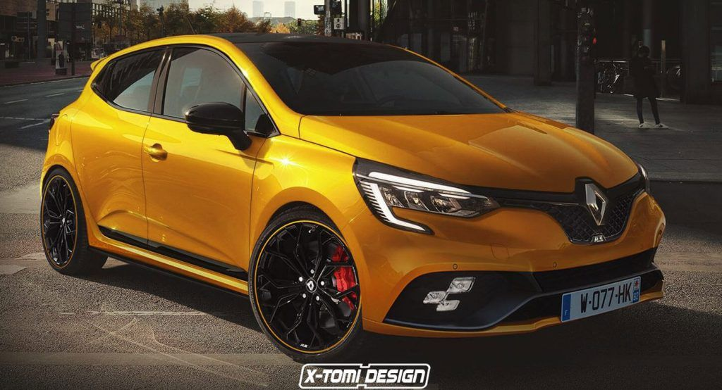 New Renault Clio Rs Will Pretty Much Look Like This Clio Rs