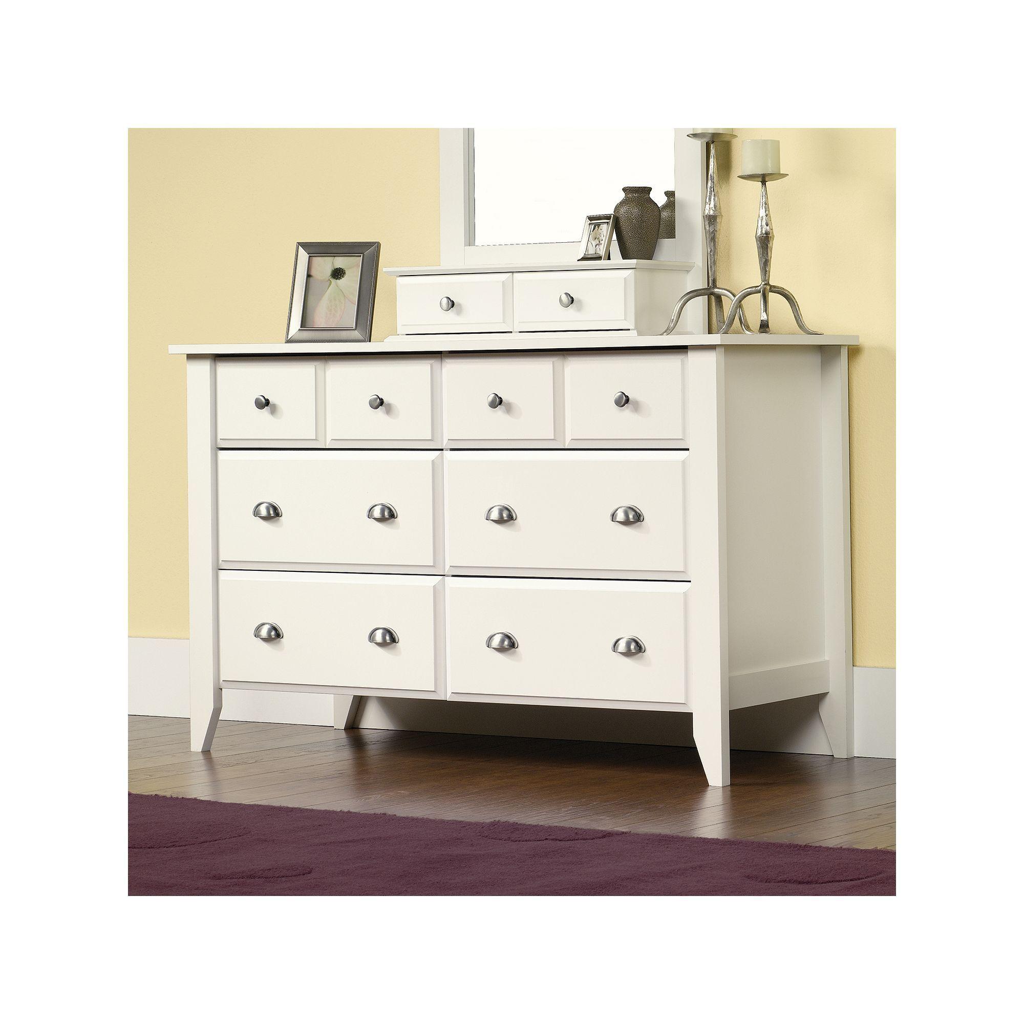 Best Sauder Shoal Creek Dresser Dresser With Mirror Dresser 400 x 300