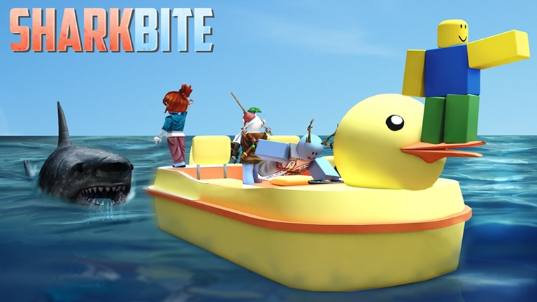 4 Sharkbite Roblox Gaming Is One Of The Most Popular Computer Activities New Technologies Are Constantly Arriving To M In 2021 Roblox Roblox Funny Games Roblox