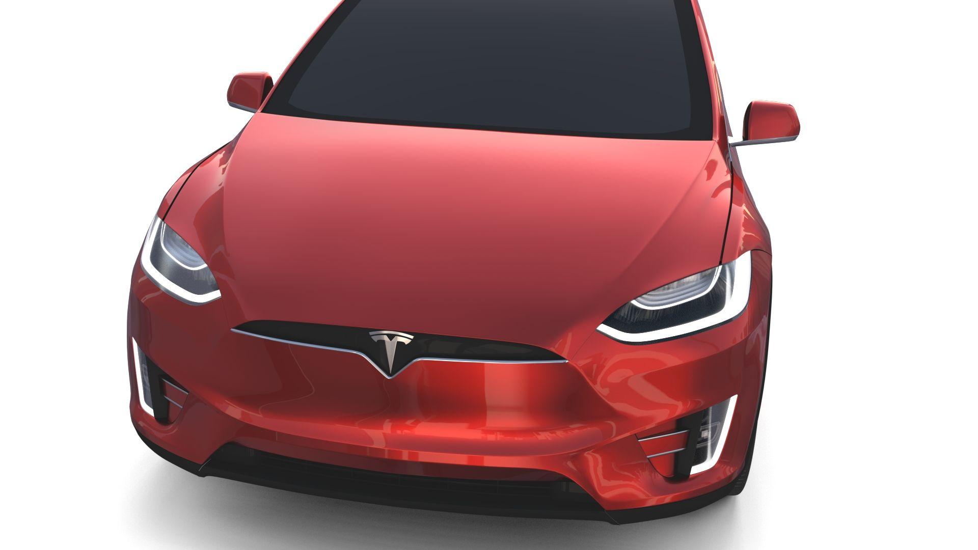 Tesla Model X Red Tesla Model X Tesla Model Tesla