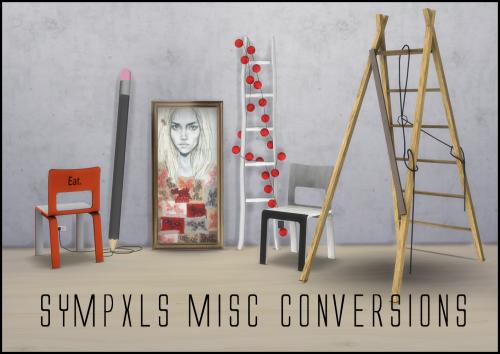 Sims 4 CC's - The Best: Misc Conversions by Sympxls
