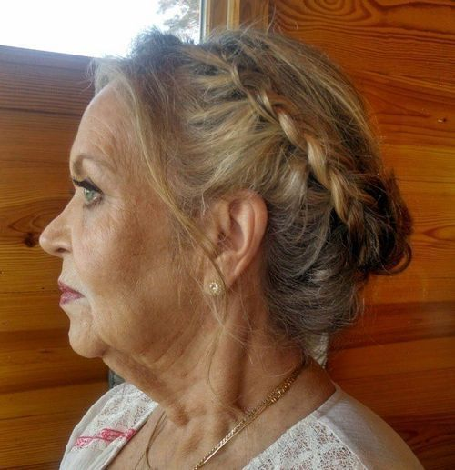 40 Stylish Long Hairstyles for Older Women | Pinterest | Updo, Hair ...