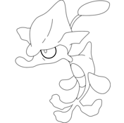 Skrelp Coloring Page Coloring Pages Free Coloring Pages Pokemon