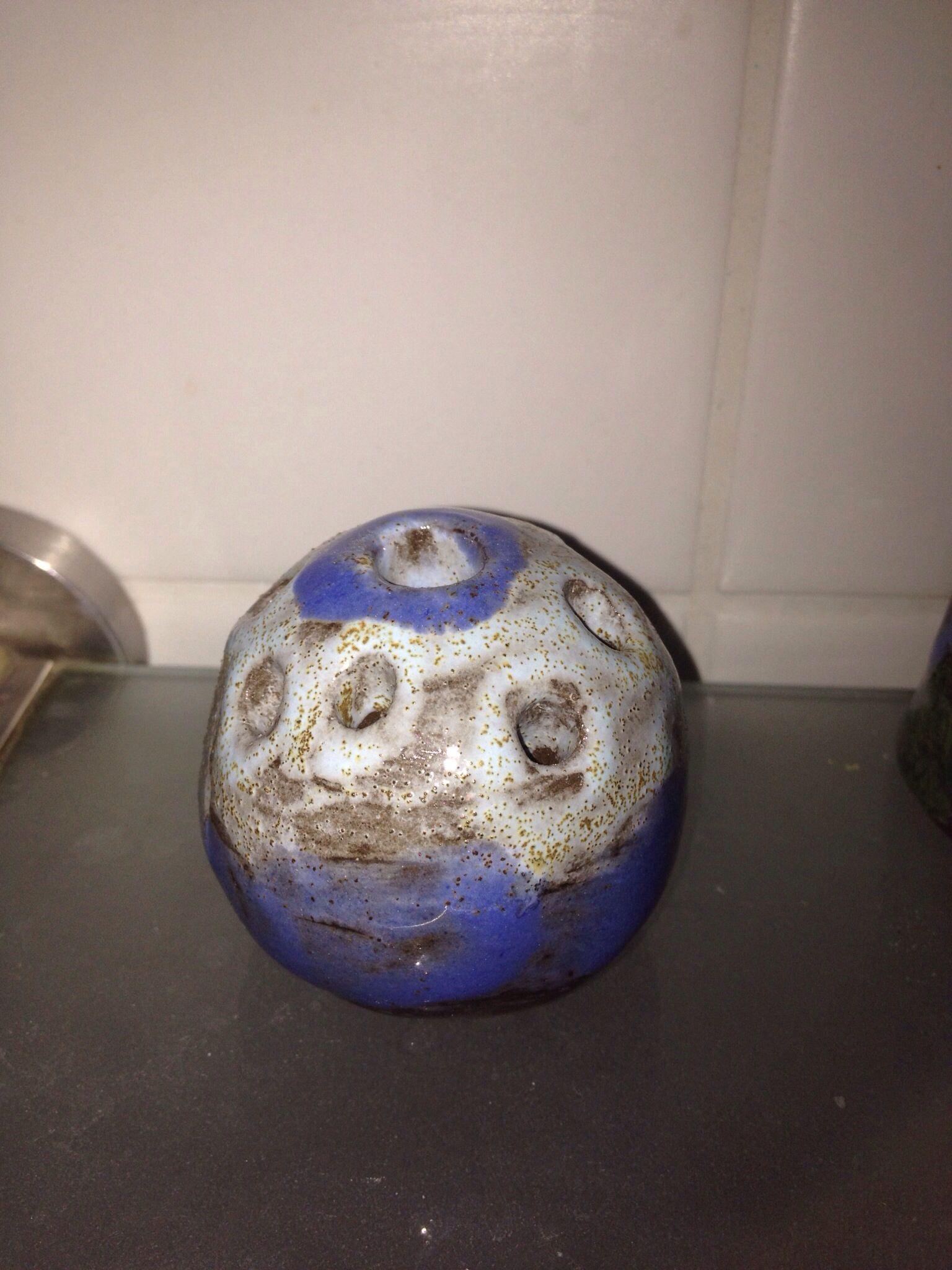 Vase Fruhjahr 2013 Keramik Ceramic Ton Getopfert Pottery Vase Keramik Fruhjahr