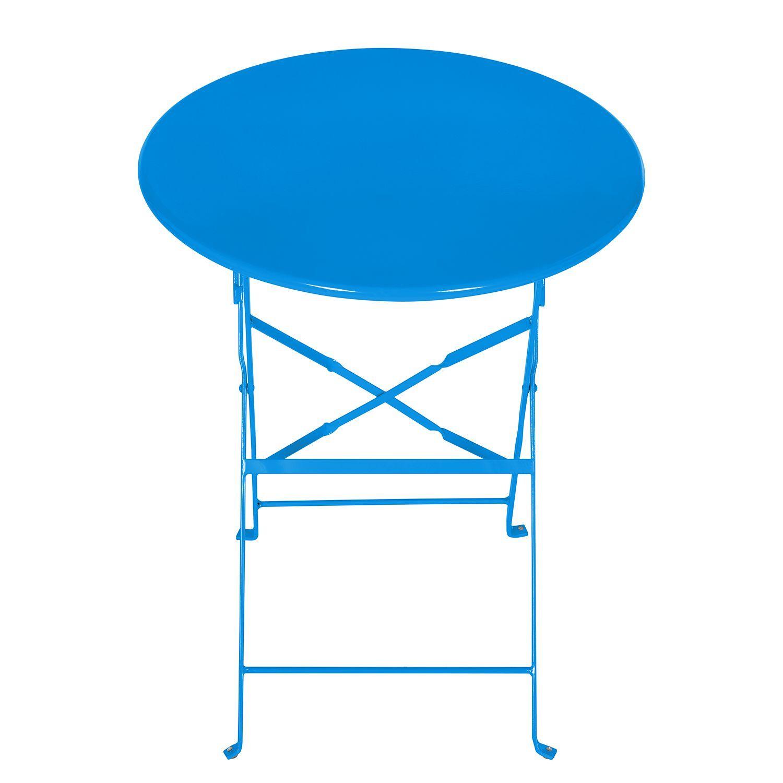 Luxury Klapptisch Lumi Metall Blau mooved Jetzt bestellen unter https