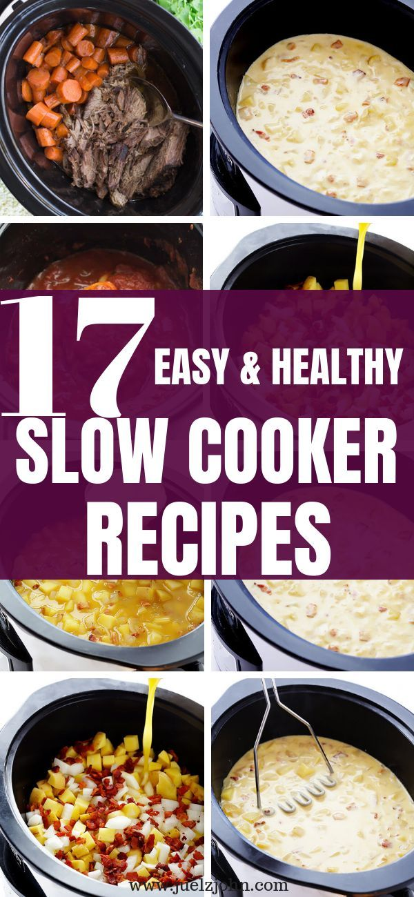 17 Healthy easy slow cooker recipes that are super delicious images