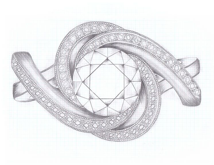 Custom Jewelry Sketch