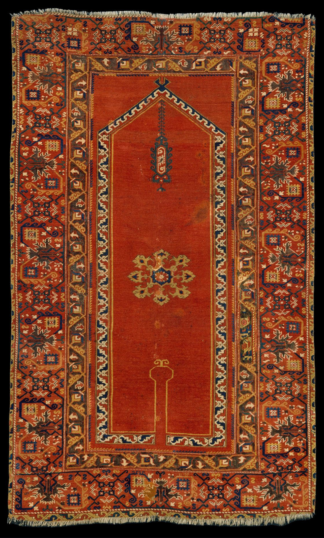 socalled carpet made in uak century all wool 175 x 107 cm museum of art new york