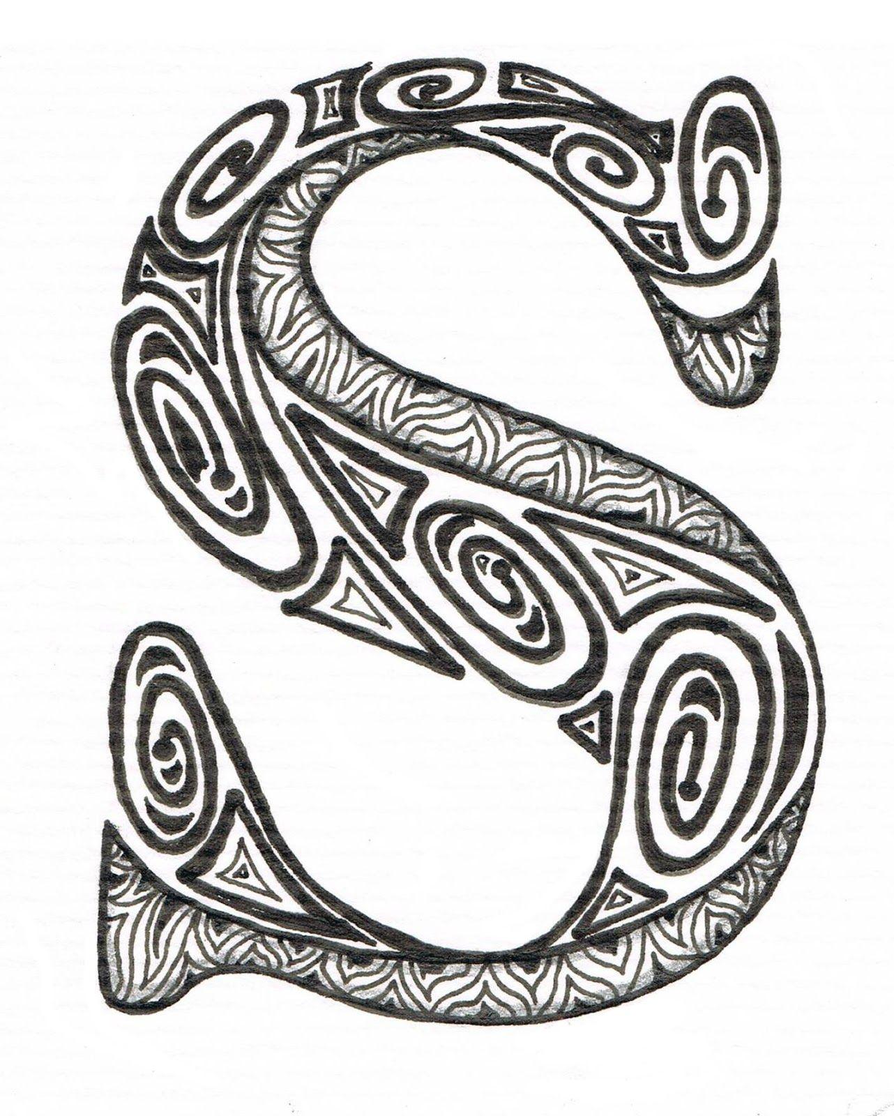 aztec coloring pages letter a - photo#17