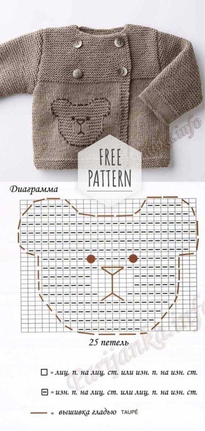 Photo of Newborn Cardigan Free Pattern