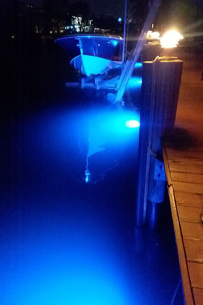 Nighttime Security With Water World Led S 15 000 Lumens