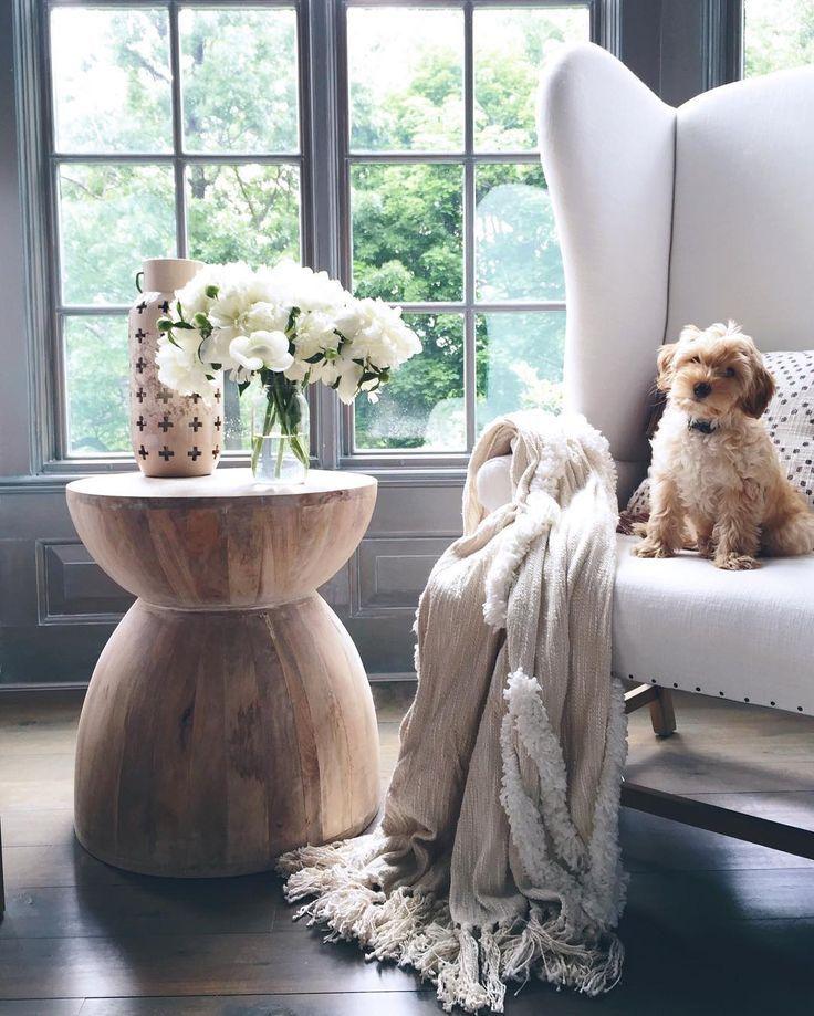 Betania Side Table, Hourglass Home, Home decor, House styles