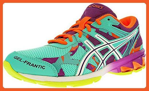6254da17df3b Asics Women s Gel-Frantic 8 Bermuda White Hot Coral Ankle-High Running Shoe  - 6.5M - Athletic shoes for women ( Amazon Partner-Link)
