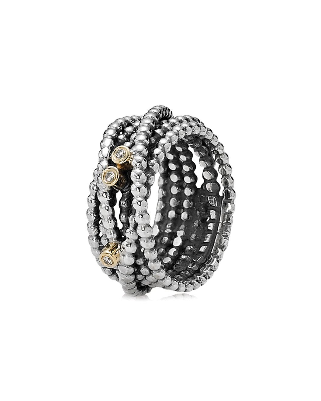 e93041bbc Spotted this PANDORA Entangled Beauty 14K Two-Tone Diamond Ring on Rue La  La. Shop (quickly!)