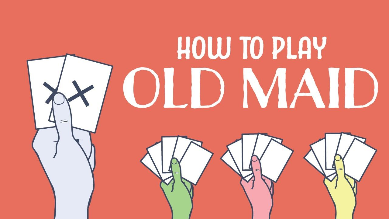 How to play old maid animated infographic animated