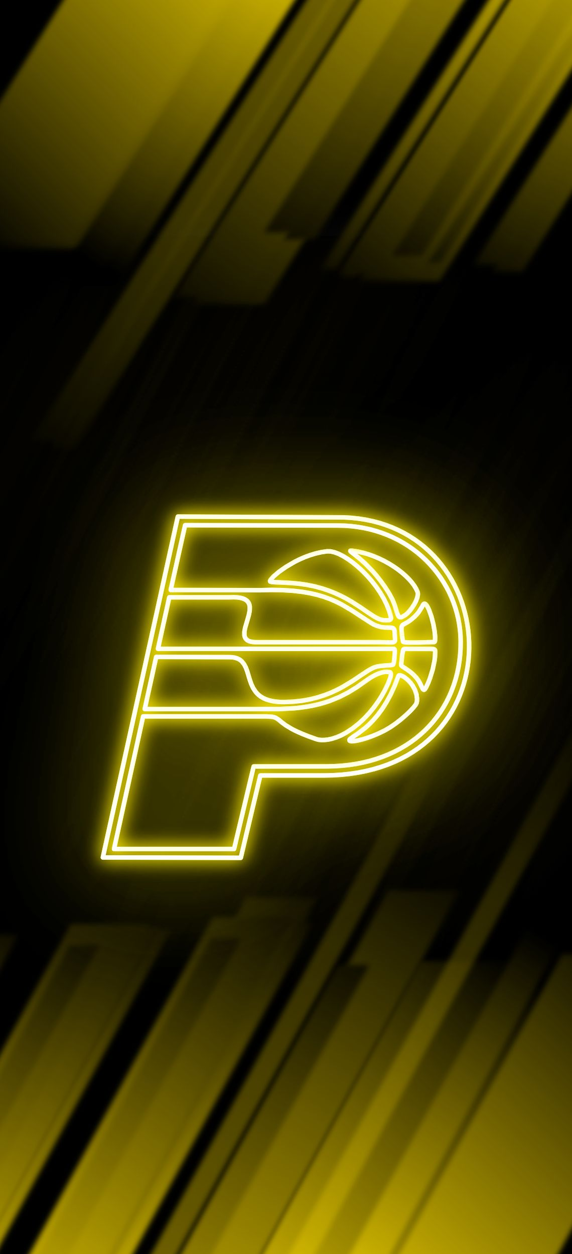 Indiana Pacers Neon Wallpaper Indiana Pacers Nba Wallpapers Nba Basketball Teams