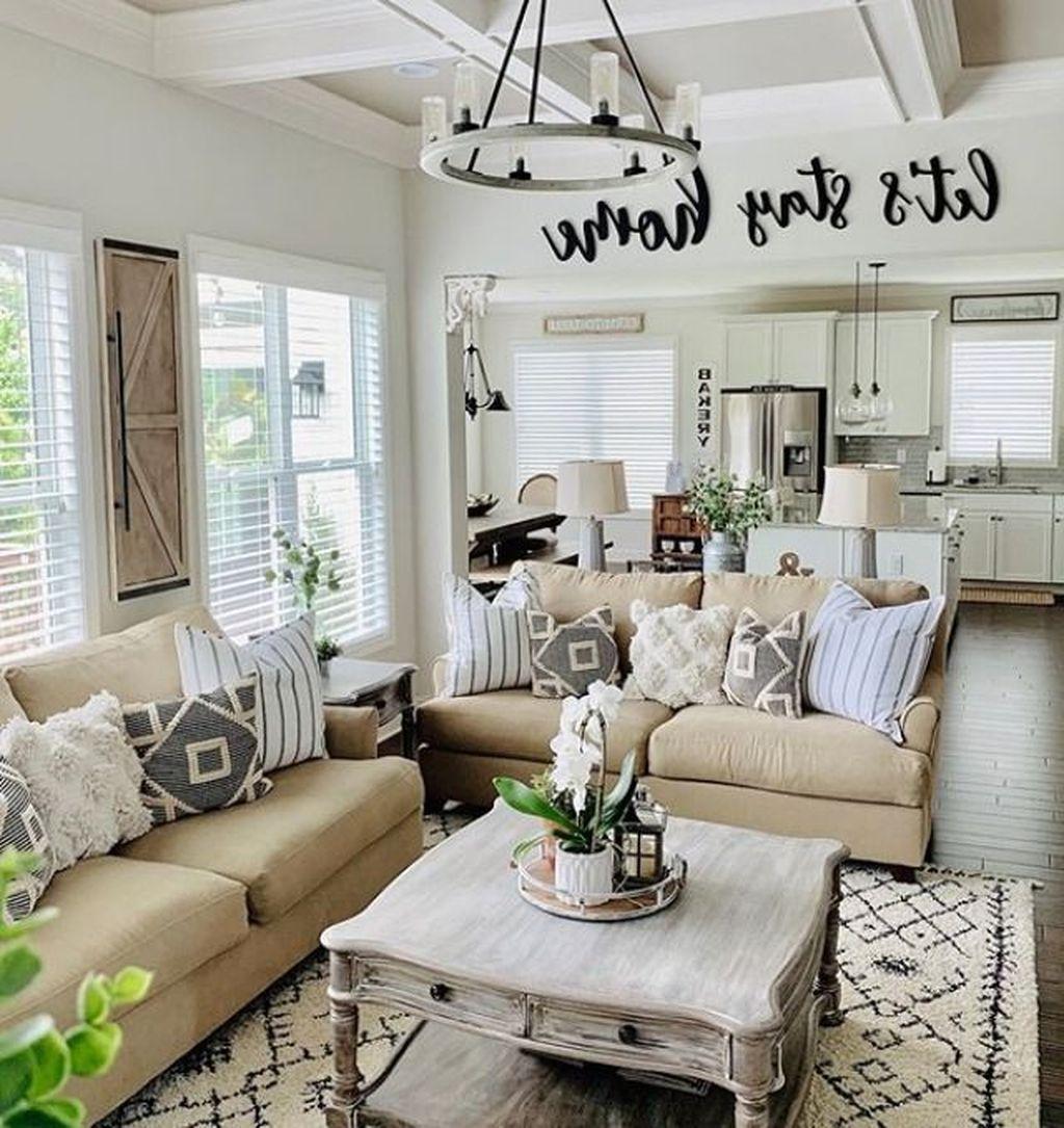 35 Modern Farmhouse Living Room Decor Ideas That On A Budget In 2020 Farm House Living Room Farmhouse Decor Living Room Modern Farmhouse Living Room