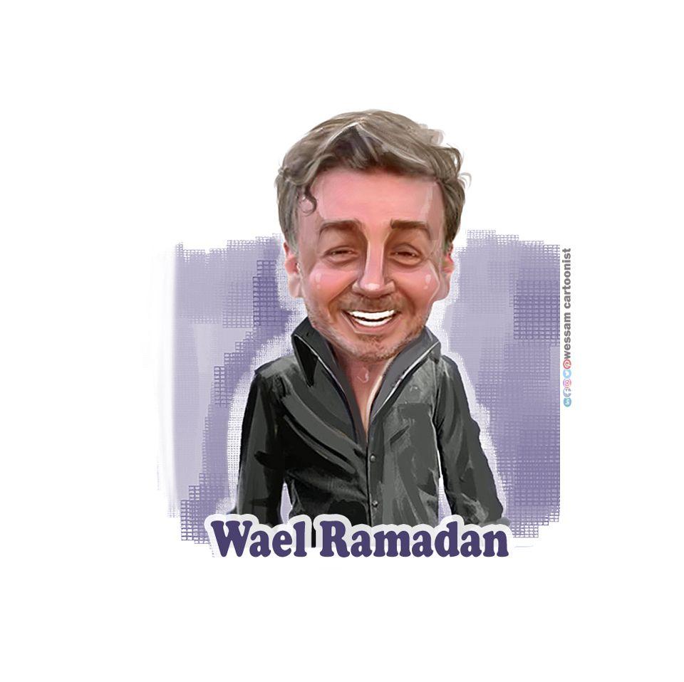 وائل رمضان كاريكاتير وسام جمول Movie Posters Poster Movies