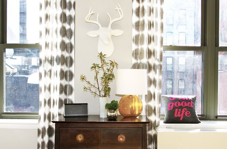 Living Room Makeover Sabrina Soto Combines His-and-Her Styles Into