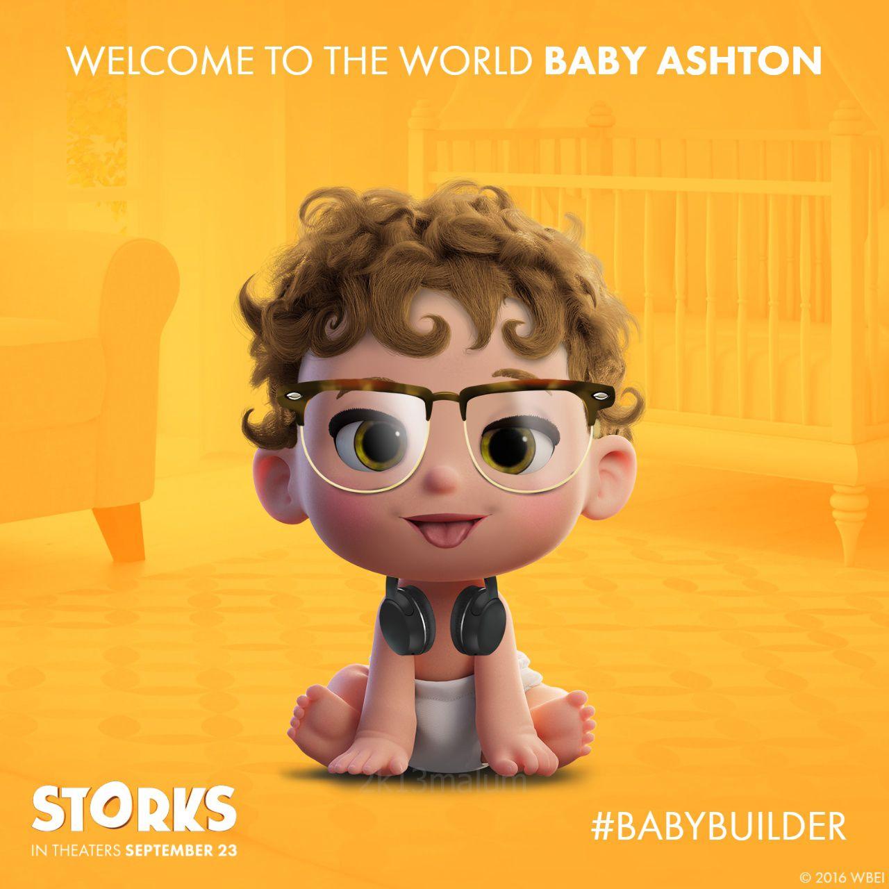 "2k13malum ""5SOS as babies from the movie Storks! "" Bebe"