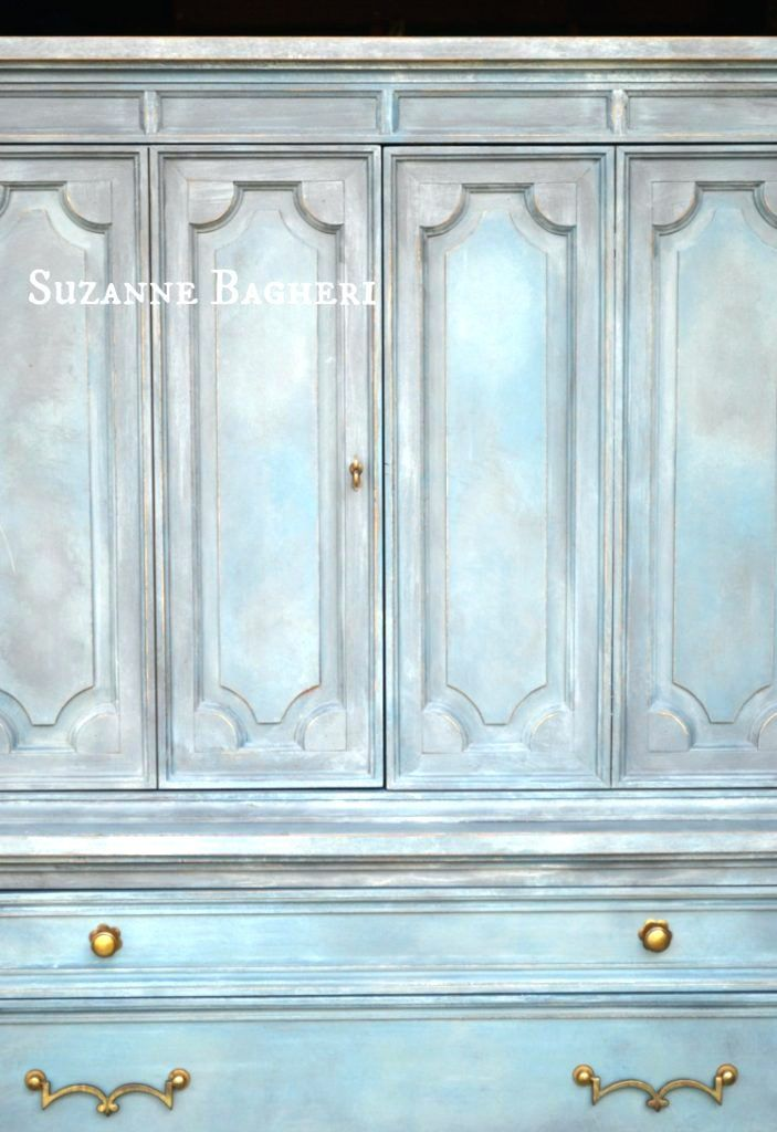 Attrayant Wardrobes ~ Hand Painted Wardrobe Armoire Painted Armoire Wardrobe