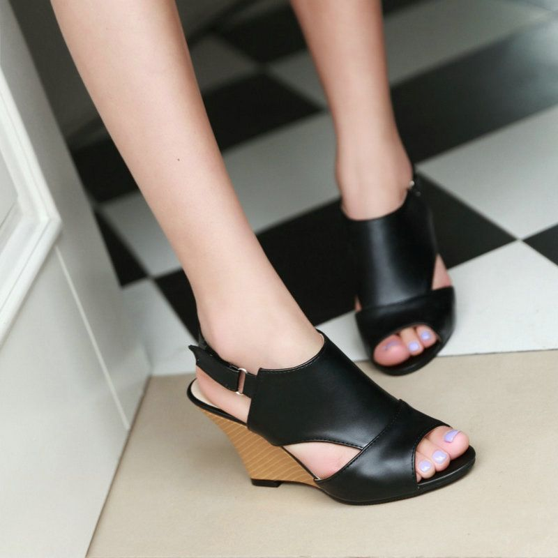 Comfortable Wedge Heel Gladiator Shoes Woman Fashion Sexy Open Toe High-heeled Sandals Female New Shoes