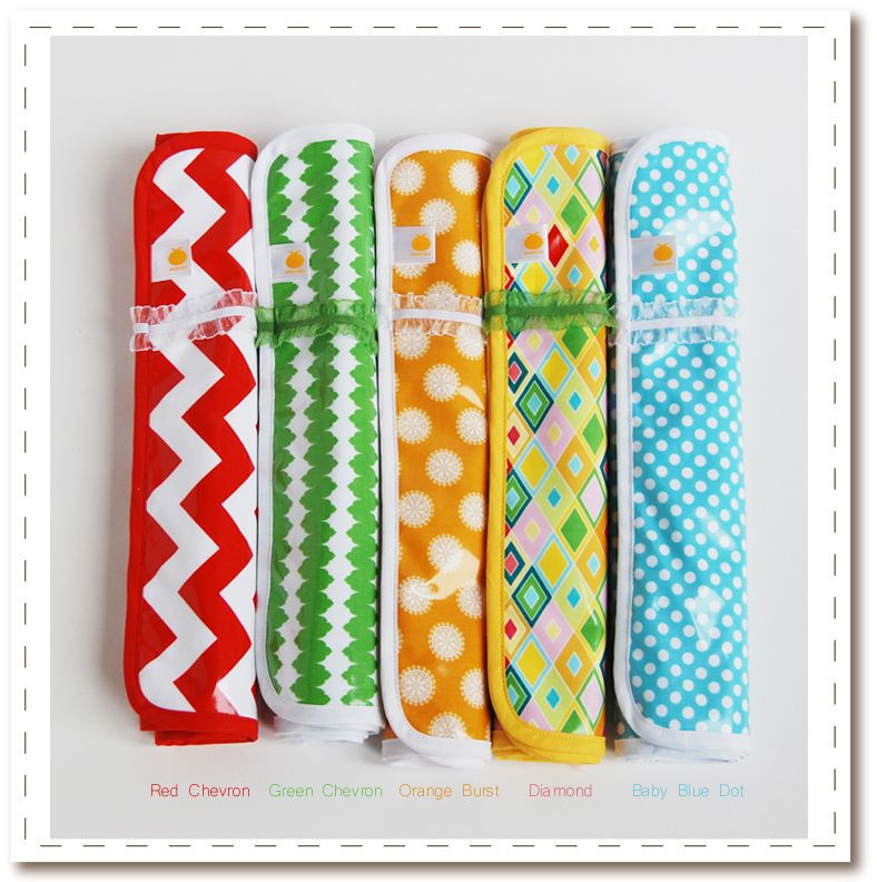 $18 waterproof and bamboo terry lined diaper changing pad for home or on the go @Satsuma Designs #baby #nursery