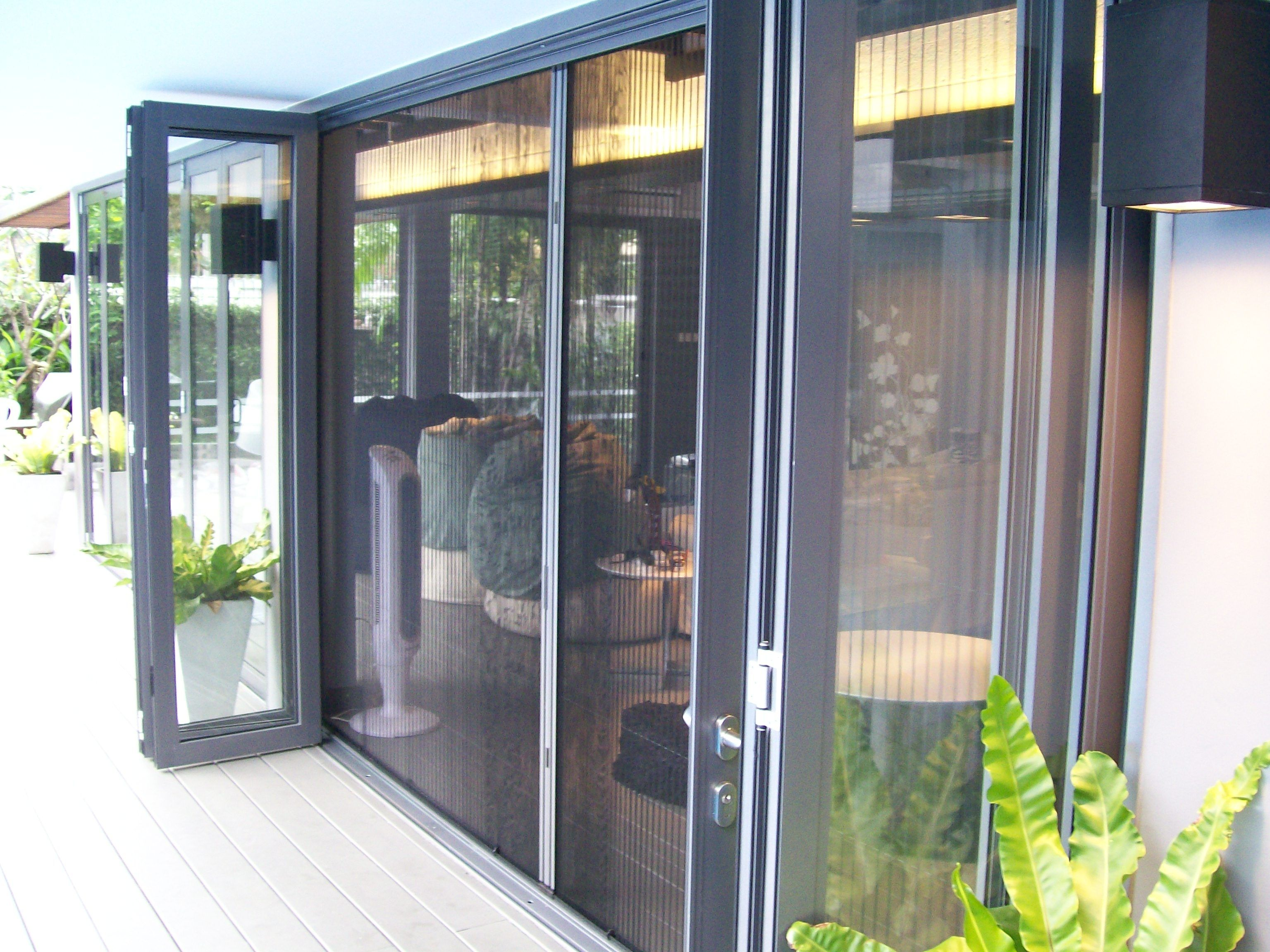 Magnetic Fly Screen Patio Doors   http://thefallguyediting.com ...