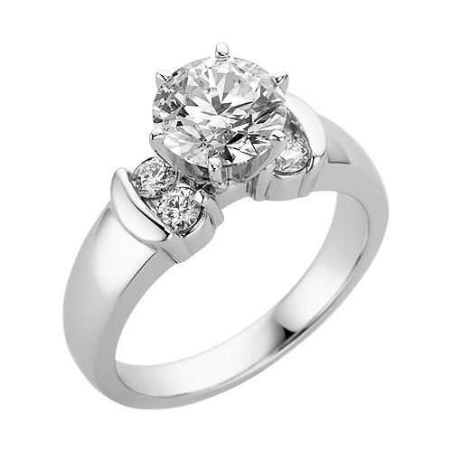 Fred Meyer Jewelers Certified 2 ct tw Diamond Engagement Ring