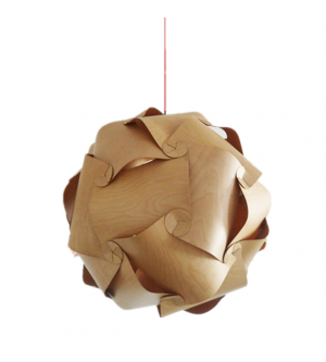 Naos Wood Pendant Light Replica With Images Wood Pendant Light Wooden Pendant Lighting