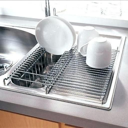 41 + The Do's and Don'ts of Dish Rack Drying Small Kitchens - freehomeideas.com #dishracks