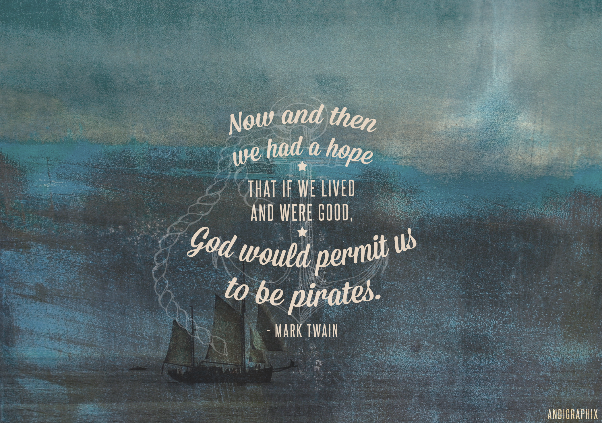 Gypsy Quotes About Life: Mark Twain Pirates Quote