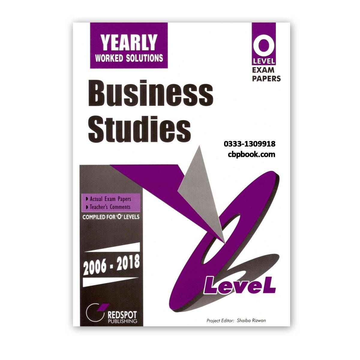 O Level BUSINESS STUDIES Yearly Solution 2019 Edition