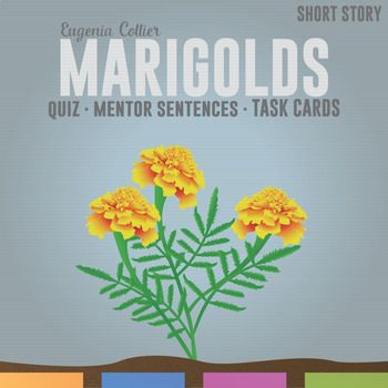 essay question marigolds story Marigolds is a 1969 short story by eugenia collier she reports that she wrote  the story during a time when she was quite unhappy she was a girl, lizabeth,.