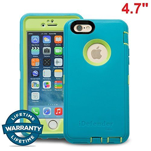 iPhone 6/6S Case, MCCC iDefender Heavy Duty Shockproof Series Case for iPhone 6/6S (4.7