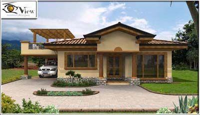 Casas pequenas arquitetura pesquisa google fachadas for Imagenes de casas coloniales