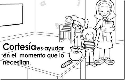 Imagenes Del Valor De La Honestidad Para Colorear Imagui Bilingual Education Coloring For Kids Raising Kids